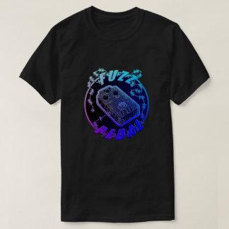 Fuzz Pedal - Electric Shock Multi-color Blue/Purpl T-Shirt