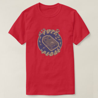 Fuzz Pedal - Electric Shock off yellow T-Shirt