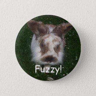 Fuzzy! 2 Inch Round Button