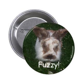 Fuzzy! 2 Inch Round Button