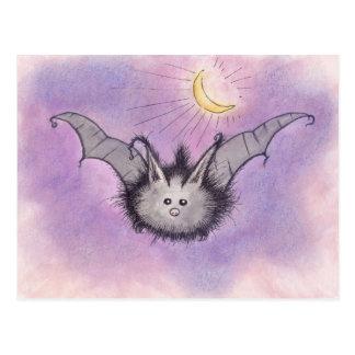 Fuzzy Bat Postcard