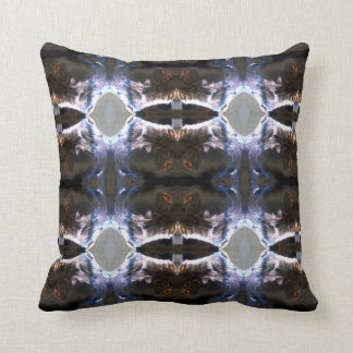 Fuzzy Pattern Throw Pillow