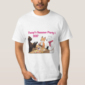 Fuzzy ' s party, buzzer 2017! T-Shirt