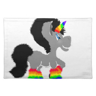 Fuzzy Unicorn Placemat