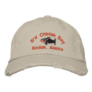 FV Chiniak Bay, Kodiak, Alaska Embroidered Hat