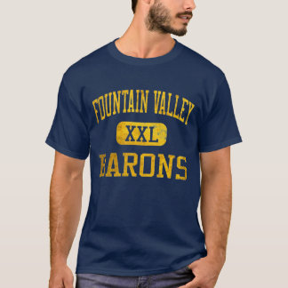 FVHS Barons Athletic T-shirt - Navy Blue