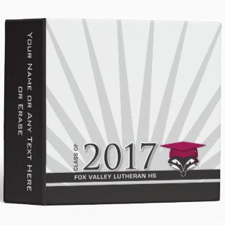 """FVL Class of 2017 2"""" Binder"""