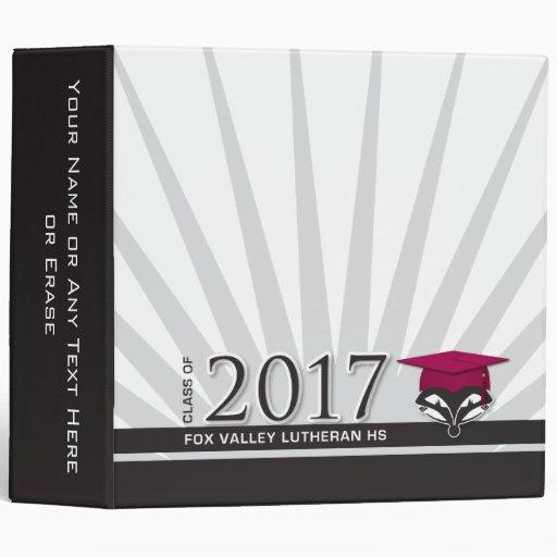 "FVL Class of 2017 2"" Binder Binders"