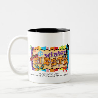 FVL Winter Fiesta Winterfest 2011 Two-Tone Coffee Mug