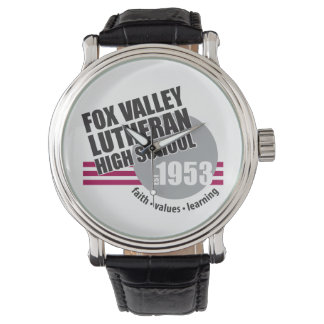 FVLHS Founded in 1953 Wristwatch