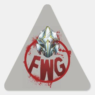 FWG Emblem Triangle Sticker