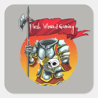 FWG's Headless Knight Square Sticker