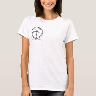 FWMBA logo/Dust Bunny women's t-shirt