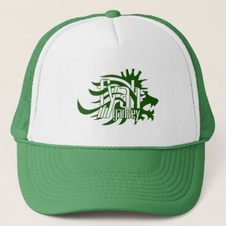 Fyah Gansey Crown Trucker Hat