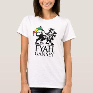 Fyah Gansey Flag T-Shirt