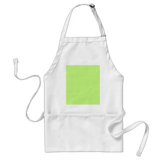 G03 Light Green Color Standard Apron