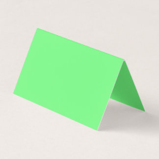 G07 Green Colour Business Card