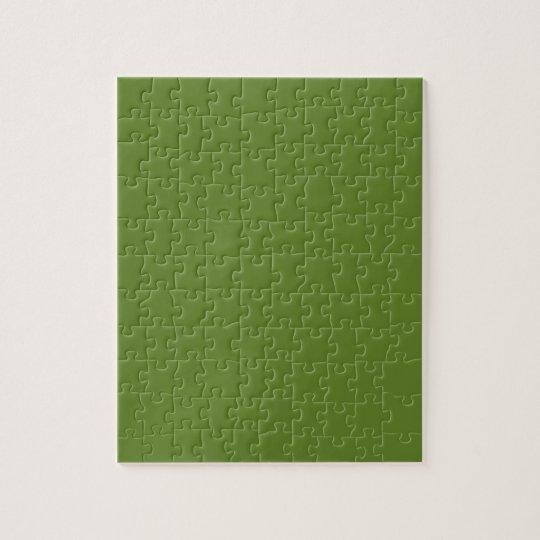 G15 Graciously Social Green Colour Jigsaw Puzzle