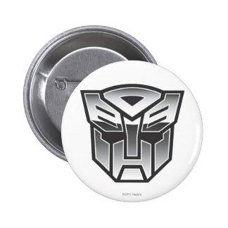 G1 Autobot Shield BW 2 Inch Round Button