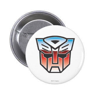 G1 Autobot Shield Color 2 Inch Round Button