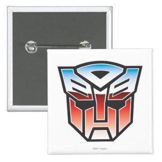 G1 Autobot Shield Color 2 Inch Square Button