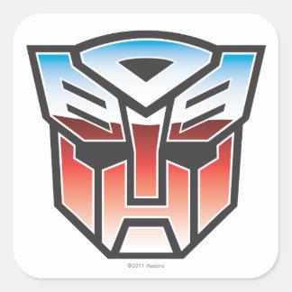 G1 Autobot Shield Color Square Sticker