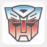 G1 Autobot Shield Colour Square Sticker