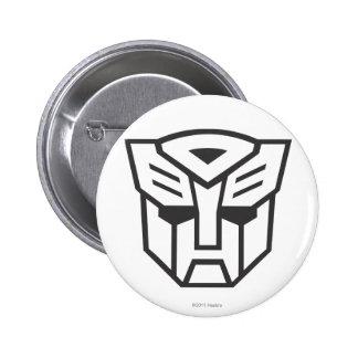 G1 Autobot Shield Line 2 Inch Round Button