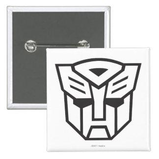 G1 Autobot Shield Line 2 Inch Square Button