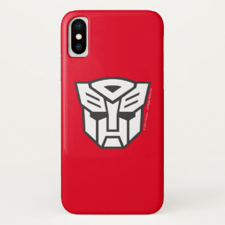 G1 Autobot Shield Line iPhone X Case