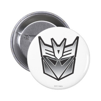 G1 Decepticon Shield BW 2 Inch Round Button