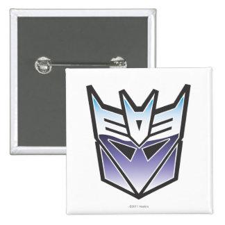 G1 Decepticon Shield Color 2 Inch Square Button