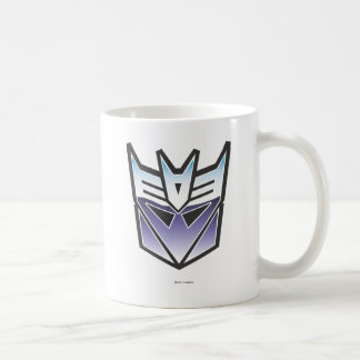 G1 Decepticon Shield Color Basic White Mug