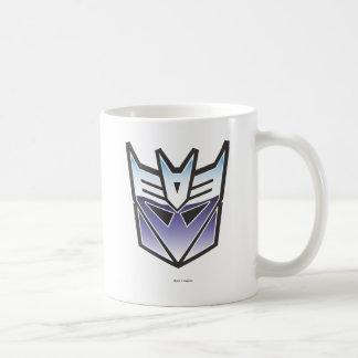 G1 Decepticon Shield Color Coffee Mug