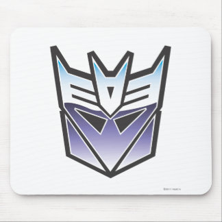 G1 Decepticon Shield Color Mouse Pad