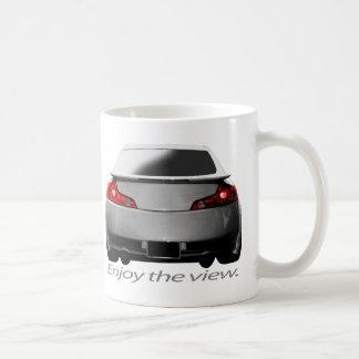 """G35 """"Enjoy the view."""" Coffee Mug"""