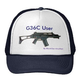 G36C User Baseball Cap Trucker Hat