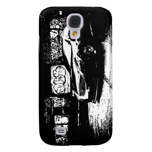 G37 Coupe Graffiti Galaxy S4 Cover
