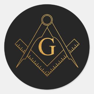 G.A.O.T.U Masonic Golden Symbol sticker