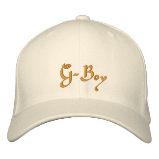 G-Boy Embroidered Hat