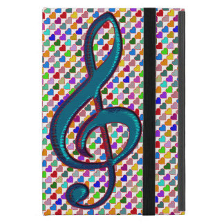 G clef cute lovely music iPad mini cases