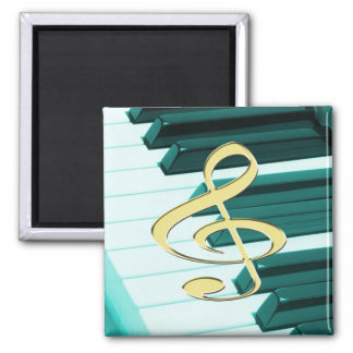G-Clef Piano Keyboard Magnet