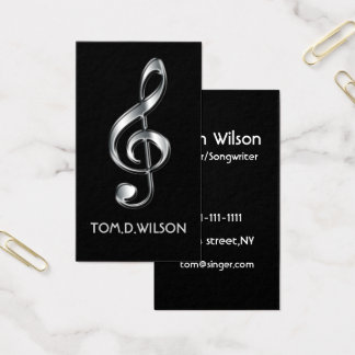 G-cleft music  Business card