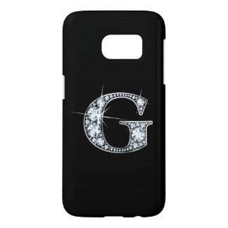 "G Faux-""Diamond"" Monogram Samsung Galaxy S7 Case"
