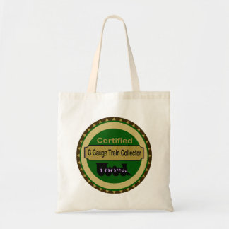 G Gauge Train Collector Tote Bag