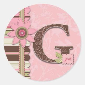 G Girl Sticker