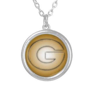 G initial letter pendant