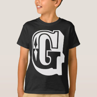 """G"" is for Gangsta - Alphabet Letter Tee"