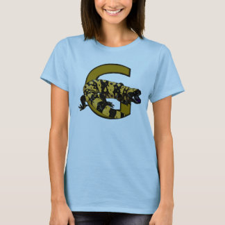 G is for Gila monster! (light colors only) shirt