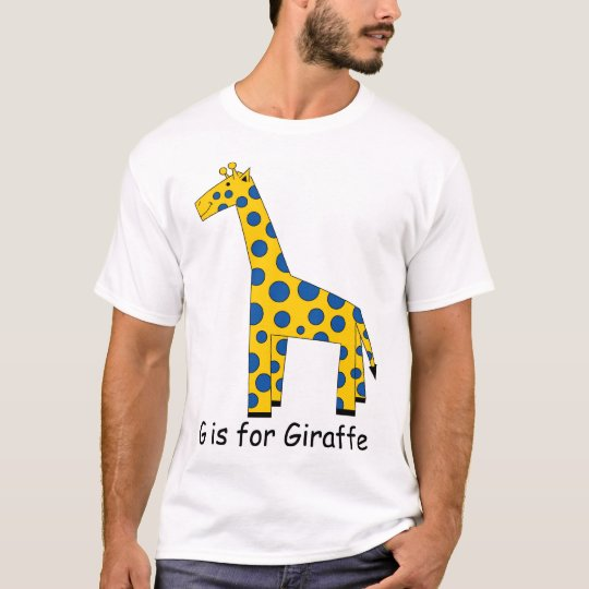 G is for Giraffe T-Shirt